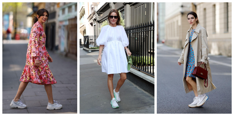 Diez zapatillas blancas (rebajadas) para combinar con tus vestidos de verano