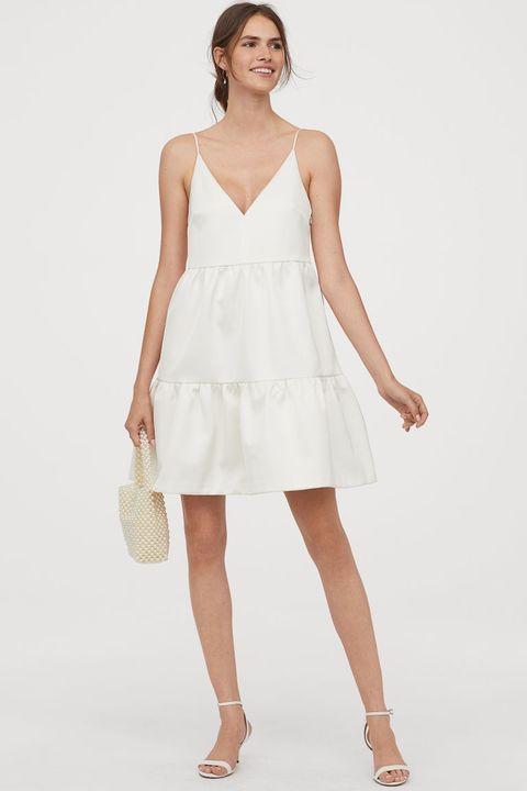reputable site 32074 b0f4f Abiti da sposa 2020, il vestito corto di H&M è il sogno del sì