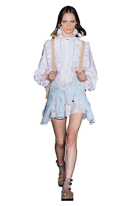 1b9516831964 Vestiti di pizzo moda Primavera Estate 2019  il neo romanticismo