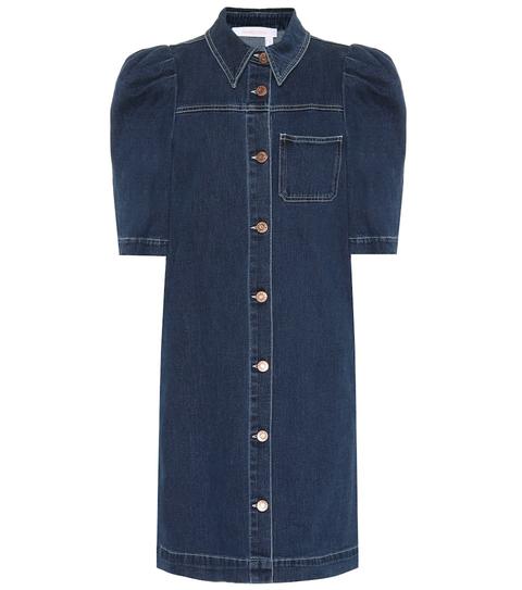 Denim, Clothing, Sleeve, Jeans, Pocket, Textile, Collar, Button, Dress shirt, Outerwear,