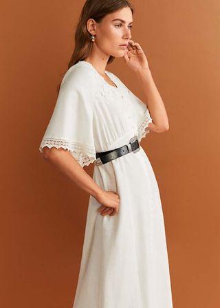 f20d667f01 Vestiti estate 2019, quello lungo e bianco Mango è tendenza moda