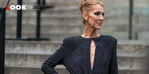 info for 6e79f 251cf Vestiti moda 2019: quello rosa di Celine Dion al Moulin ...