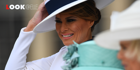 Vestiti moda 2019 Melania Trump look Lady Diana