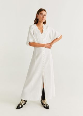 best service 4dc75 4c5b4 Vestiti estate 2019, quello lungo e bianco Mango è tendenza moda