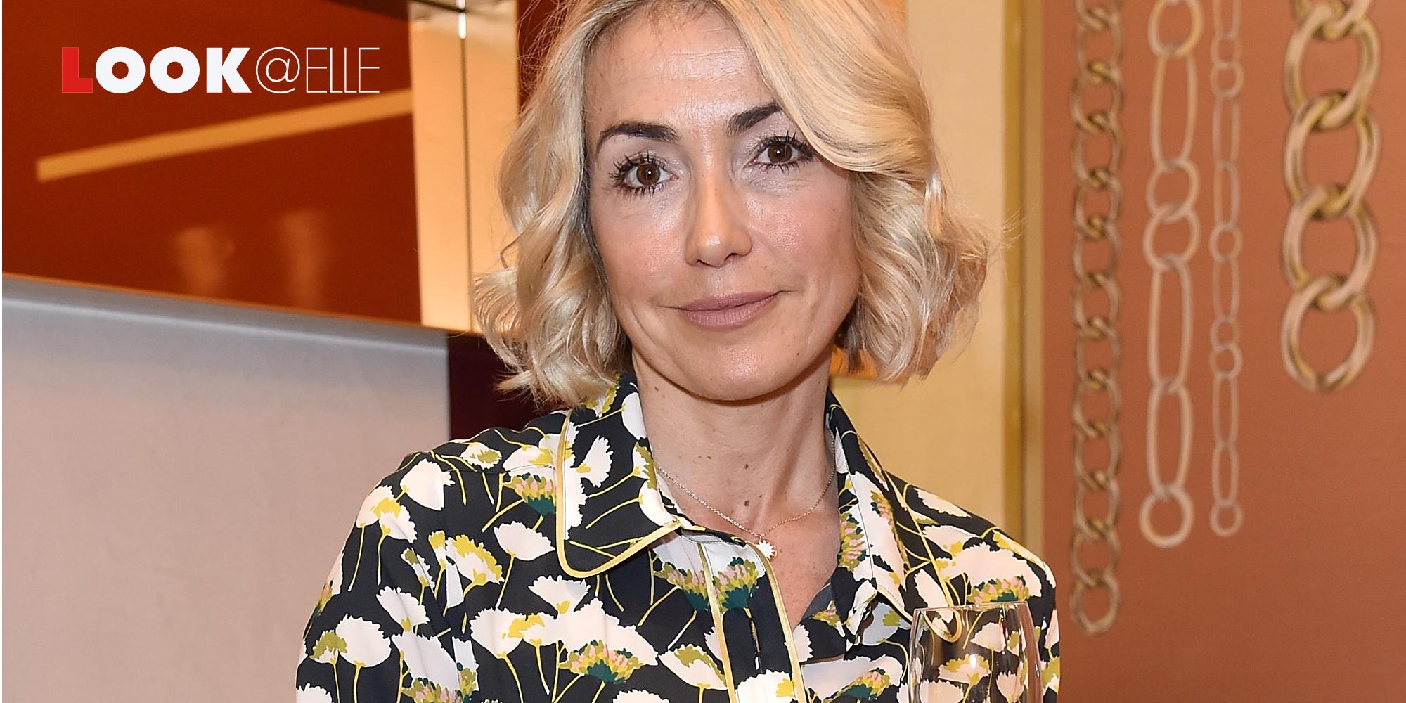 Il vestito arancione tramonto di Francesca Senette è una dedica alle tendenza romantiche dell'Autunno Inverno 2019 2020