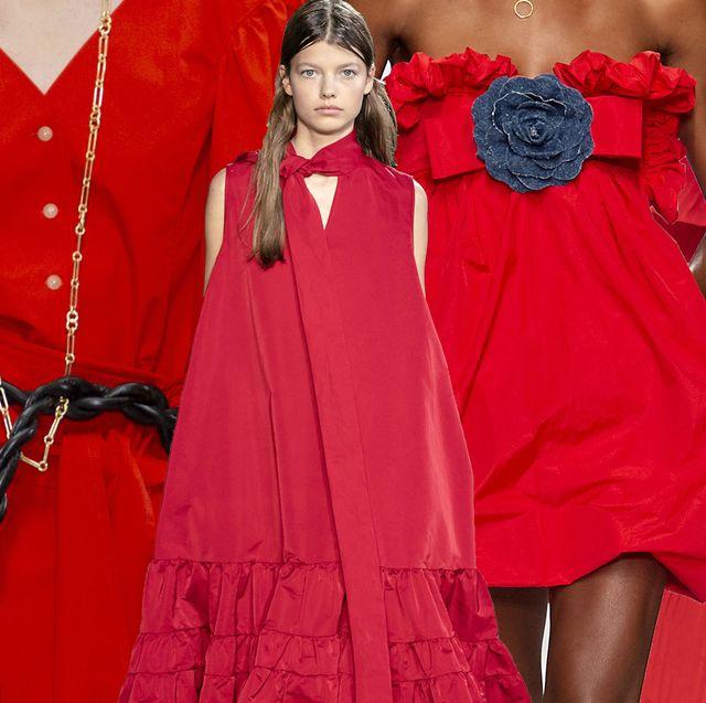 vestiti rossi moda estate composit giulia pacella