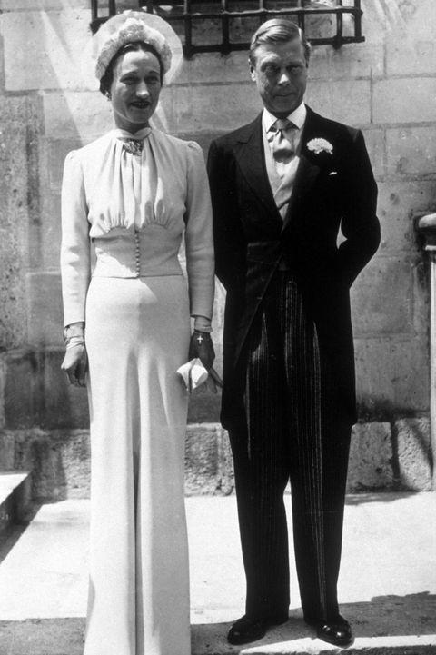 abito da sposa di wallis simpson