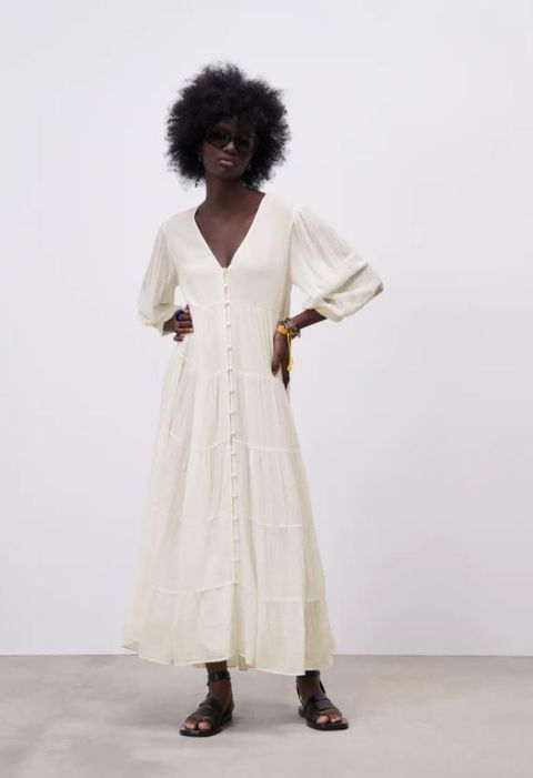 vestiti bianchi estate 2021 zara