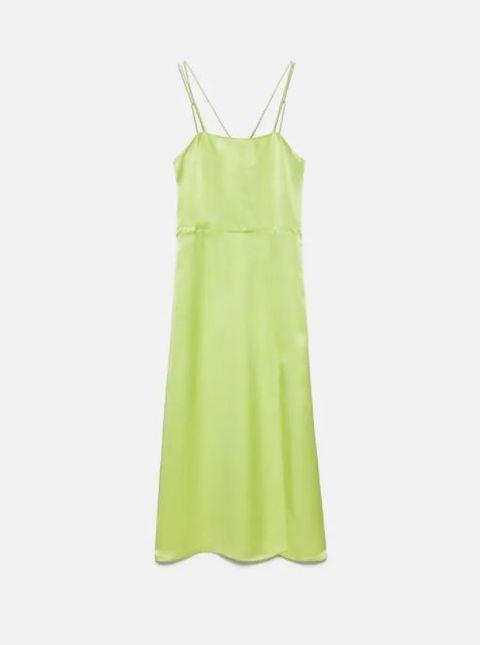 vestito estate 2021 lungo verde