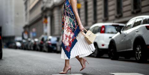 Street fashion, White, Photograph, Fashion, Clothing, Dress, Shoulder, Snapshot, Beauty, Street,
