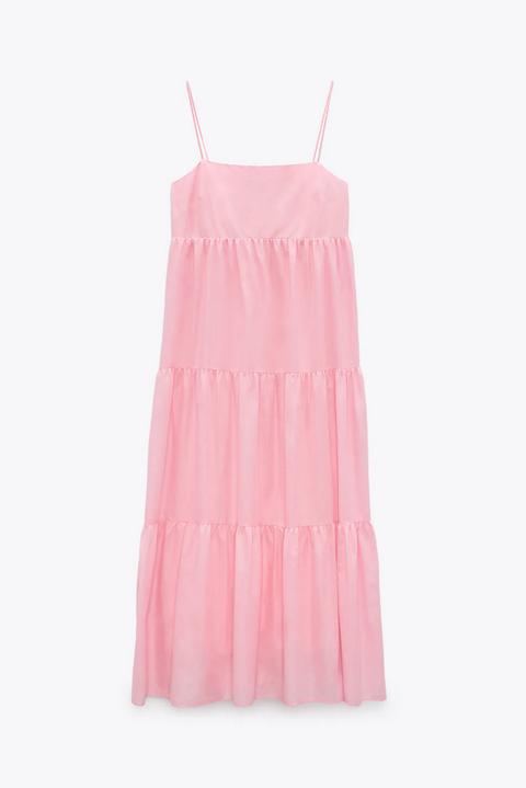tendenze moda estate 2021 vestito cotone zara