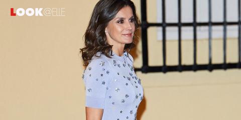 Vestiti Eleganti Moda 2019.Vestiti Moda 2019 Il Look Di Letizia Ortiz E Tendenza
