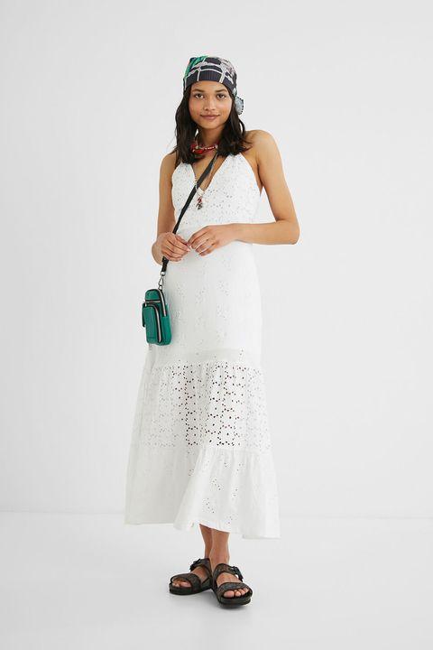 vestito bianco desigual estate 2021