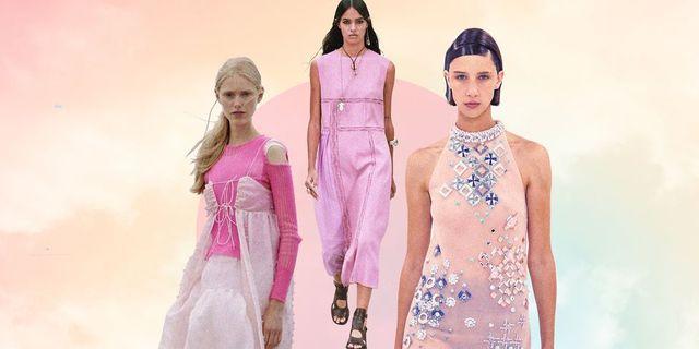 vestiti estate 2021 corti lunghi rosa
