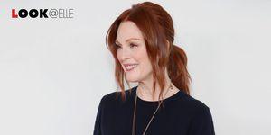 Vestiti a maniche lunghe: quello di Julianne Moore è top per l'Autunno Inverno 2018 2019
