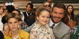 Vestito moda 2019: il vestito a fiori di Harper Beckham è tendenza Autunno Inverno 2019 2020