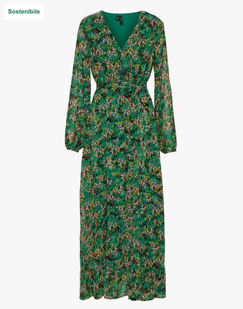 vestito a fiori moda primavera estate 2020
