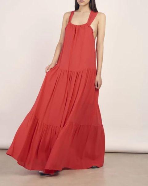vestito rosso primavera 2021