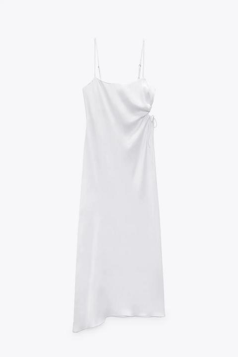 vestito bianco zara primavera estate 2021