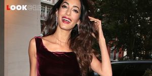 vestito velluto tendenze moda 2019 Amal Clooney