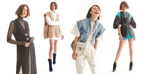 Clothing, Jeans, Denim, Fashion, Outerwear, Shoulder, Fashion model, Jacket, Blazer, Footwear,