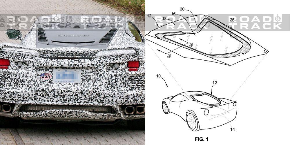 The Mid-Engine Corvette's Hatch Has a Unique Design to Aid Cooling