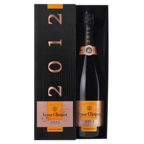 veuve clicquot brut rosÉ giftbox 2012 75cl