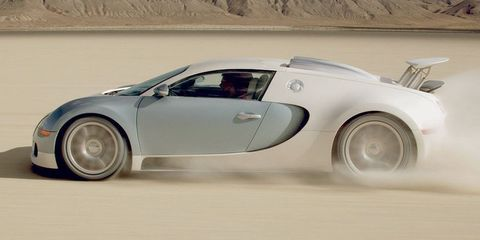It Costs $42,000 To Replace a Bugatti Veyron's Fuel Tank
