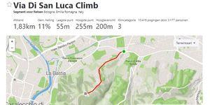 Strava d'Italia Etappe 1 - Via di San Luca