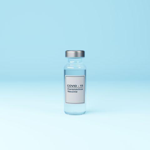 vial with covid 19 coronavirus vaccine