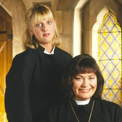 dawn french and emma chambers