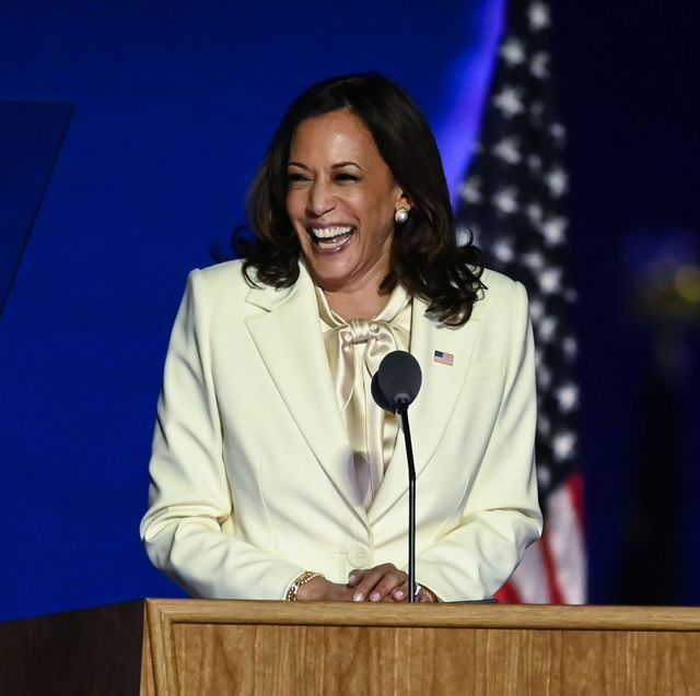 The Meaning Behind Kamala Harris Victory Party Suit