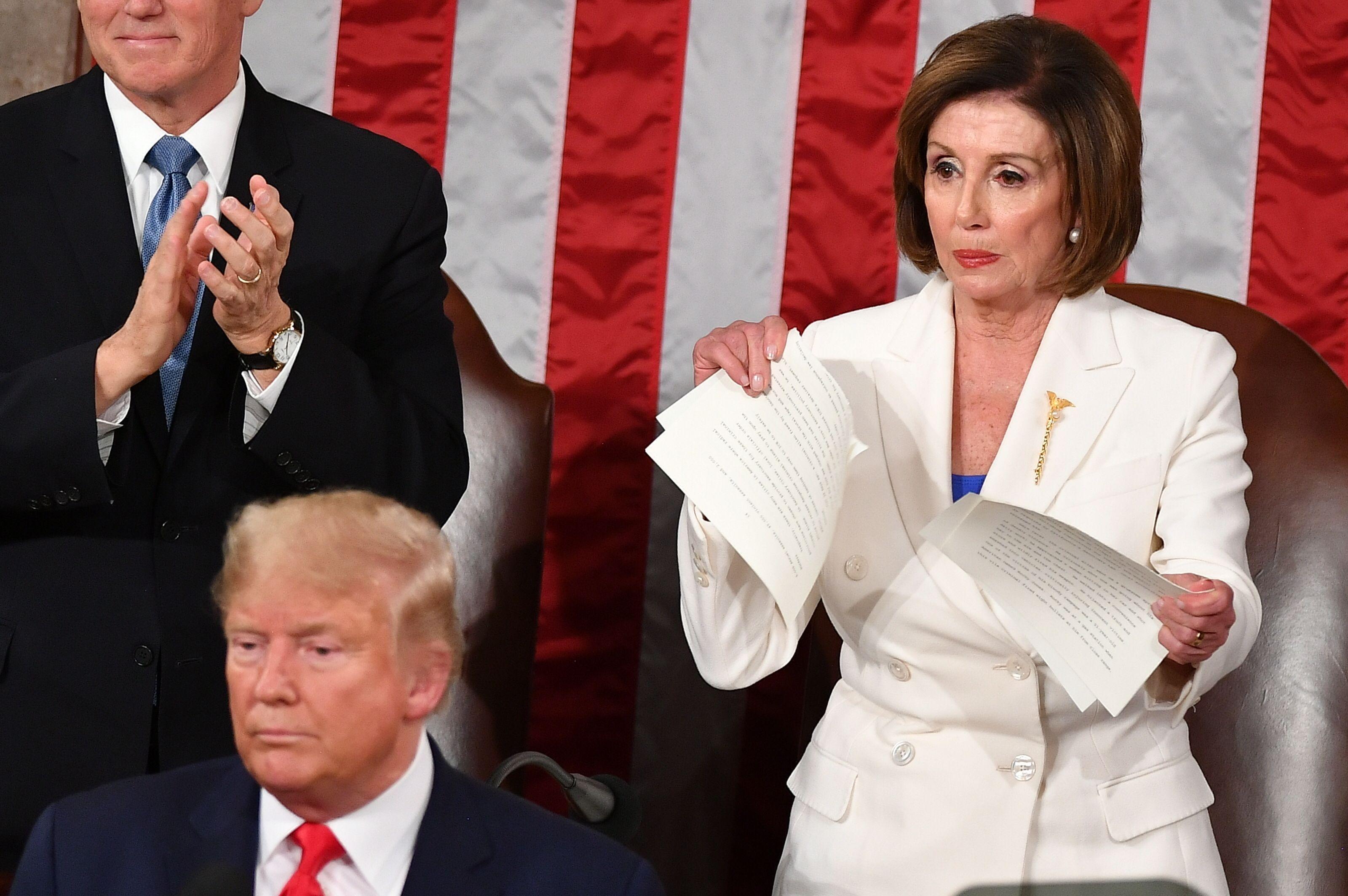 Nancy Pelosi's All Outta Faith, This is How She Feels