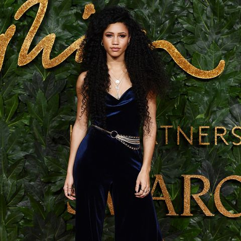vick hope, fashion awards 2018
