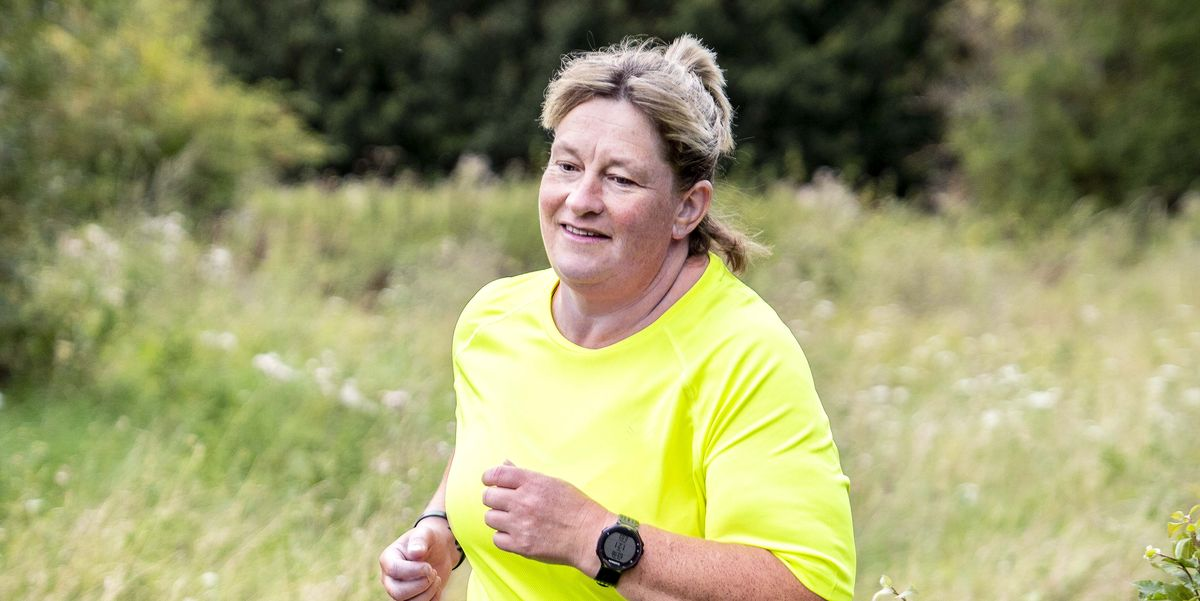 How this runner ran off nearly 10 stone