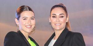 Vicky Martín Berrocal y Alba Díaz inauguración clínica capilar 'Insparya'