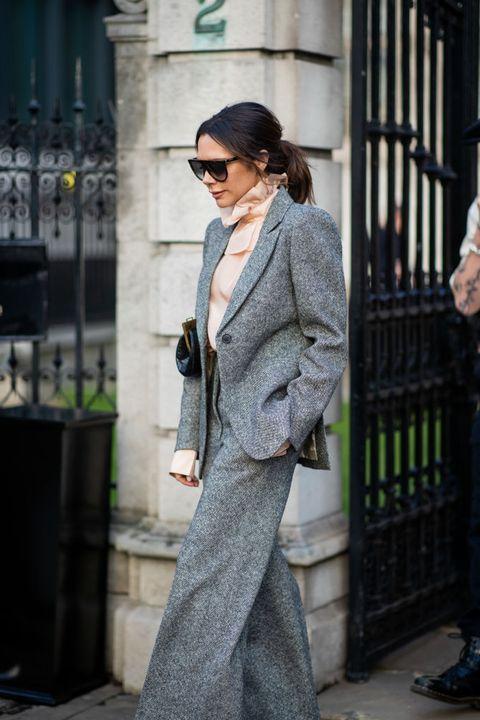 Clothing, Street fashion, Suit, Fashion, Snapshot, Outerwear, Sunglasses, Eyewear, Footwear, Coat,