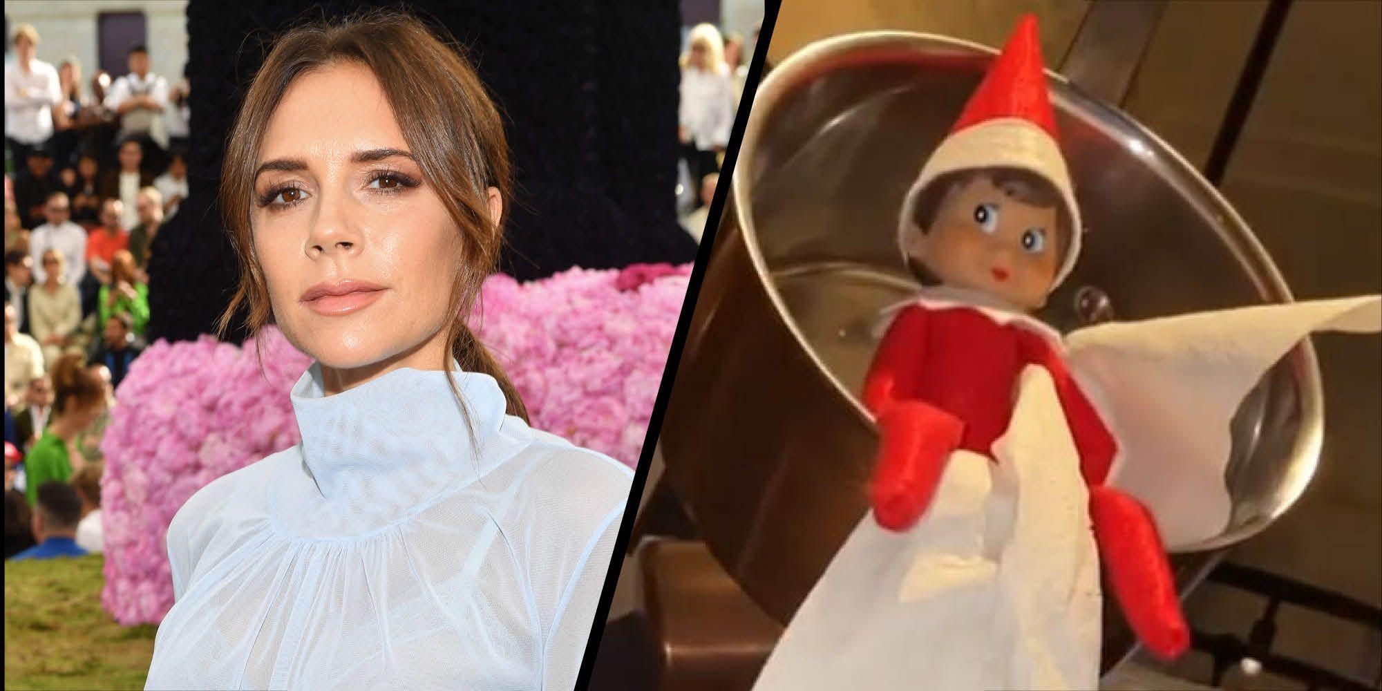 Victoria Beckham's Christmas decorations are truly unique