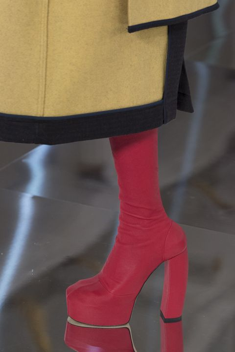 Footwear, Red, Leg, Shoe, Pink, High heels, Fashion, Joint, Haute couture, Human leg,