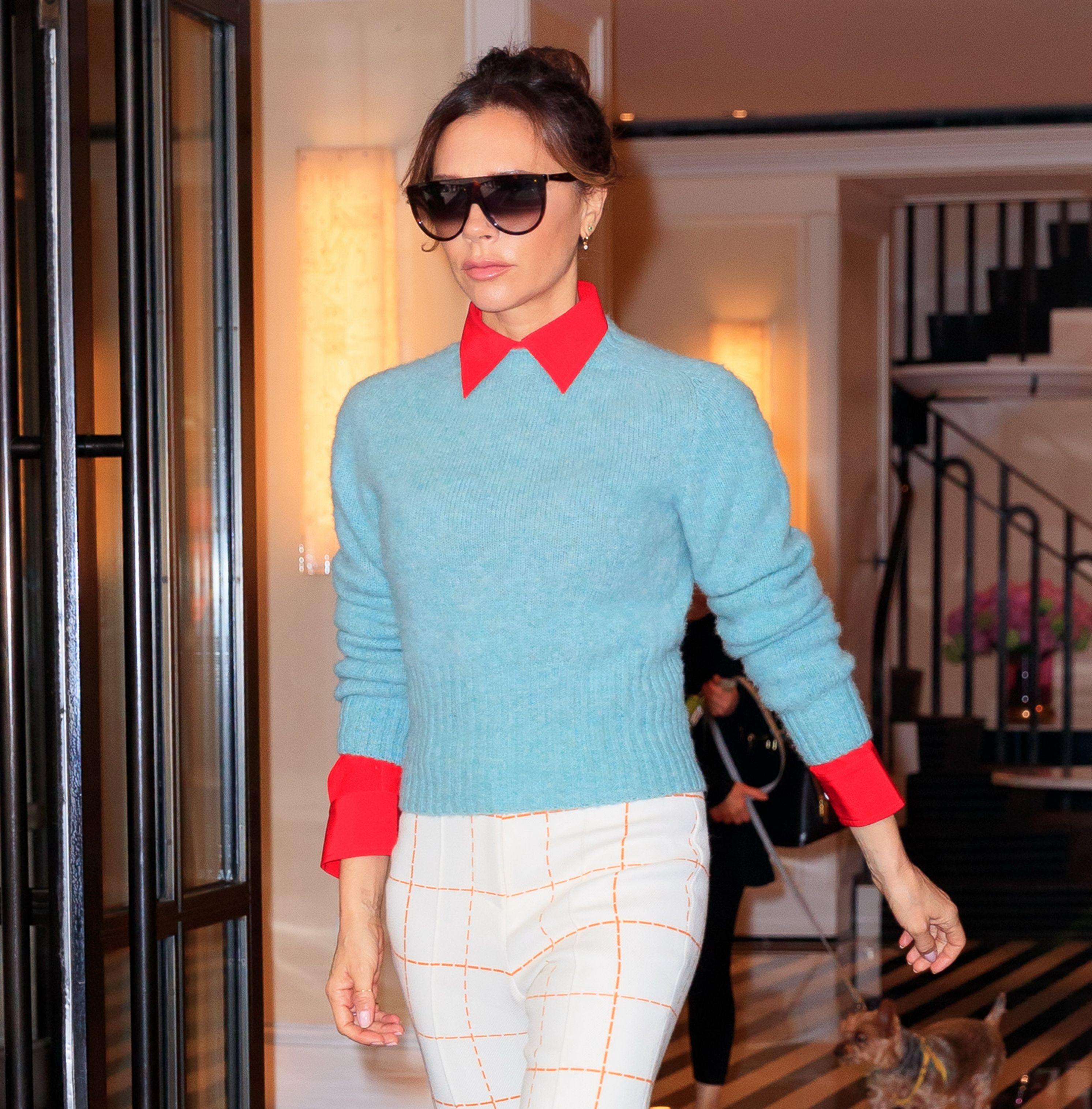 Victoria Beckham reveals Harper wears make-up - but only at home
