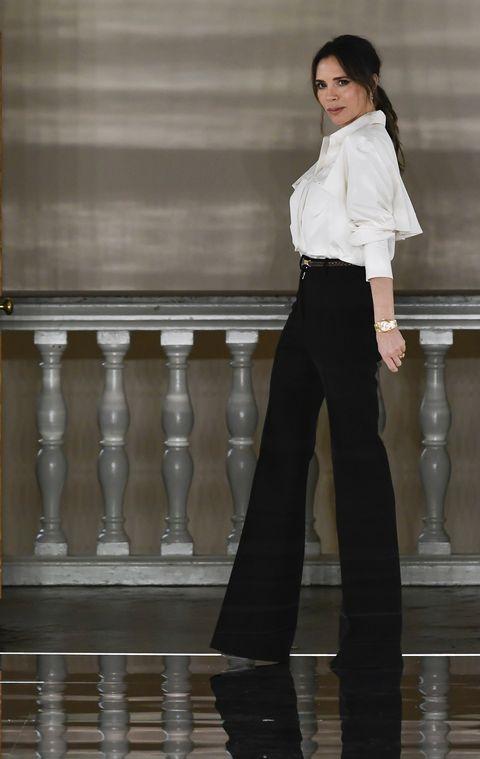 Victoria Beckham Dice Como Se Lleva Ahora El Pantalon Palazzo
