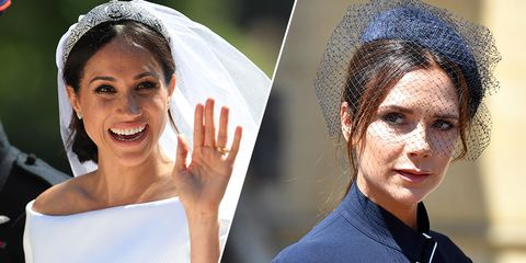 Victoria Beckham Loved Meghan Markles Wedding Dress Royal Wedding