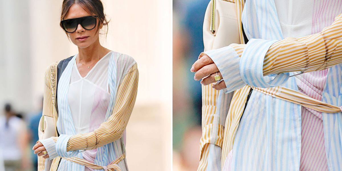 Victoria Beckham Spotted With 14th Engagement Ring Victoria