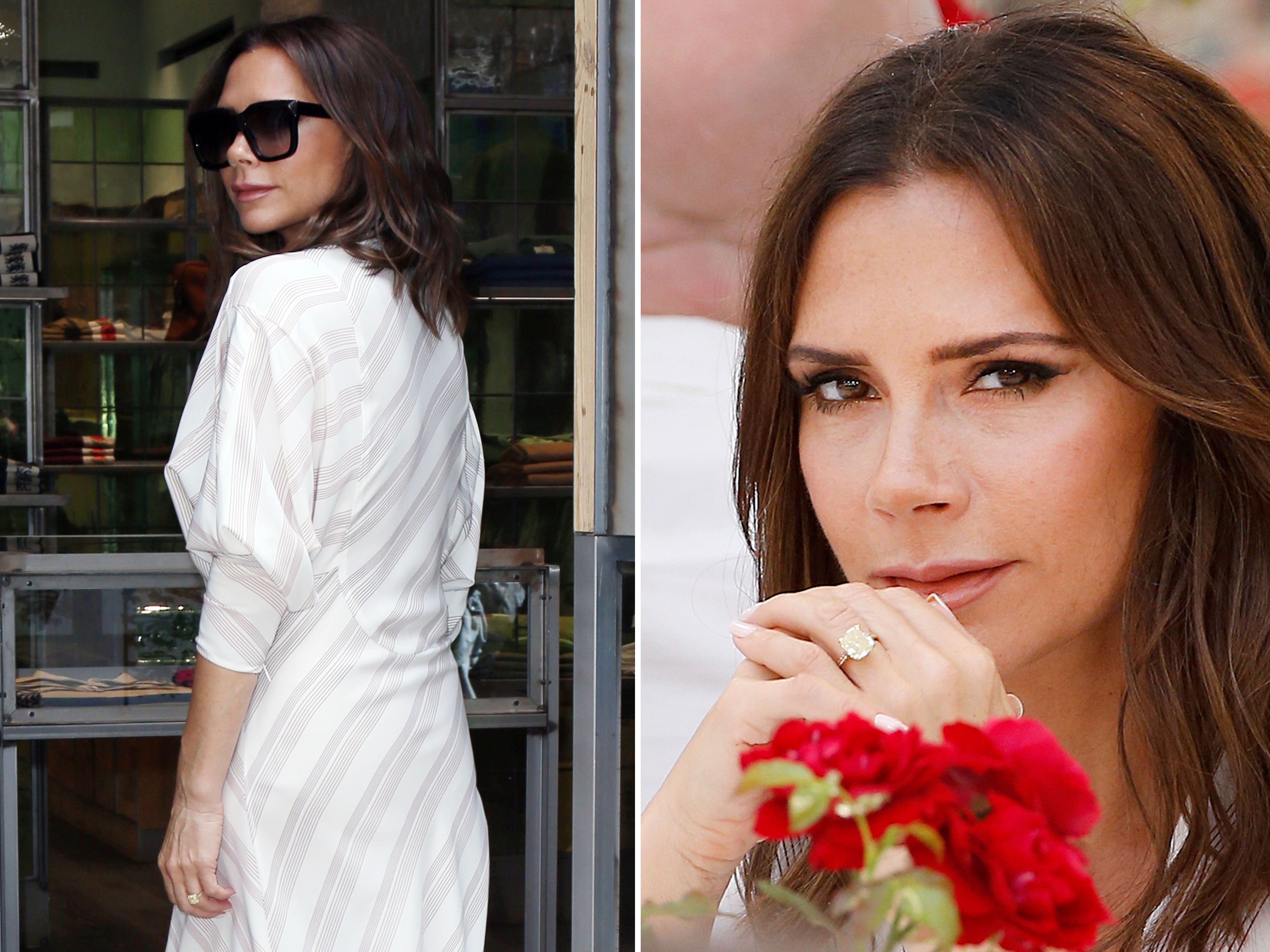 Victoria Beckham New Engagement Ring