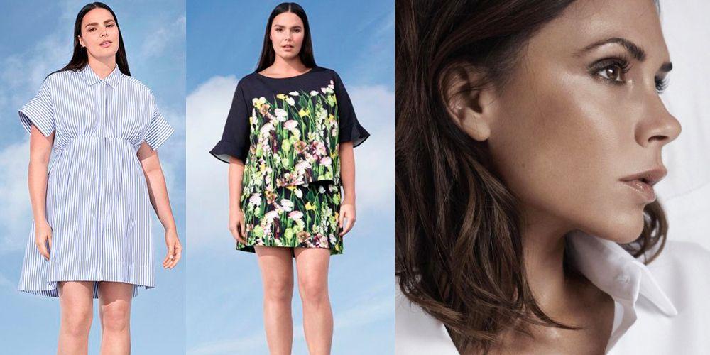 Victoria Beckham launched plus size range