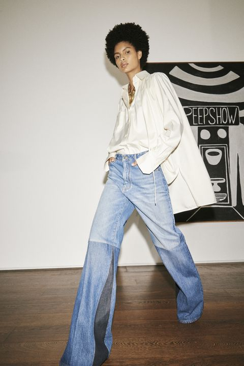 Large Denim Pants. Find yourself shopping online more than usual? Let me guide you through how we boho mamas wear spring 2021 fashion trends at ShoptheKei.com