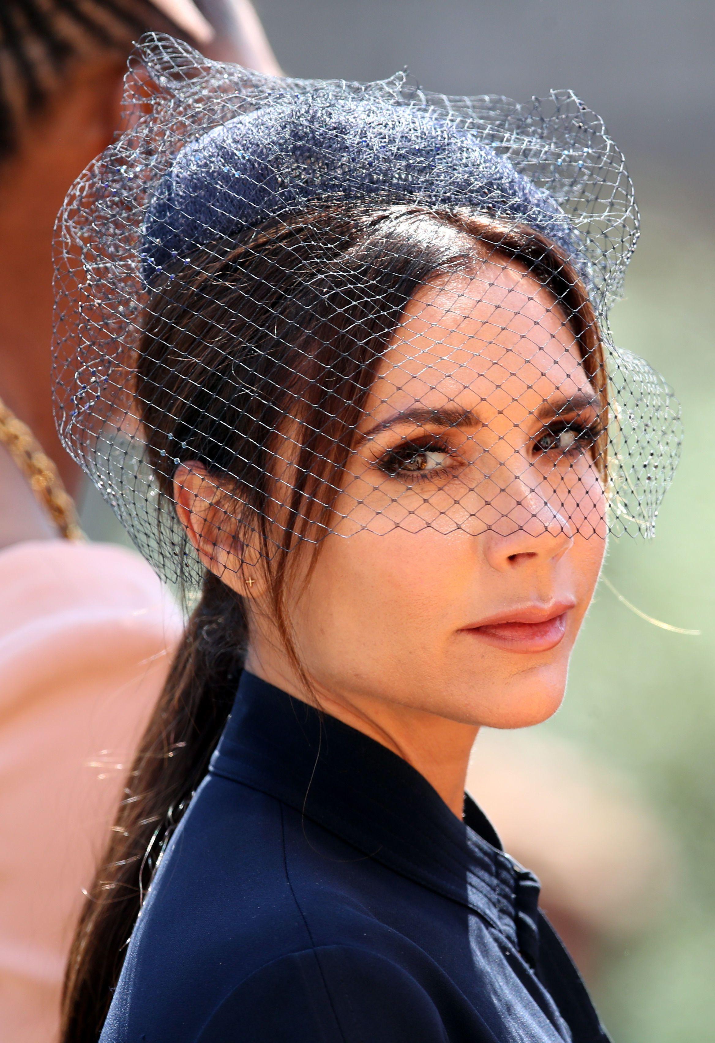 Royal Wedding Fascinators — Hats and Hatinators at Meghan and Harrys  Ceremony ceafef31631