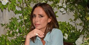 Victoria Beckham Unveils Scott's Mayfair 2018 Summer Terrace Collaboration With Flora Starkey