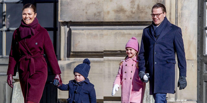 Victoria de Suecia, Daniel de Suecia, Familia Real Suecia, Princesa Estela, Príncipe óscar