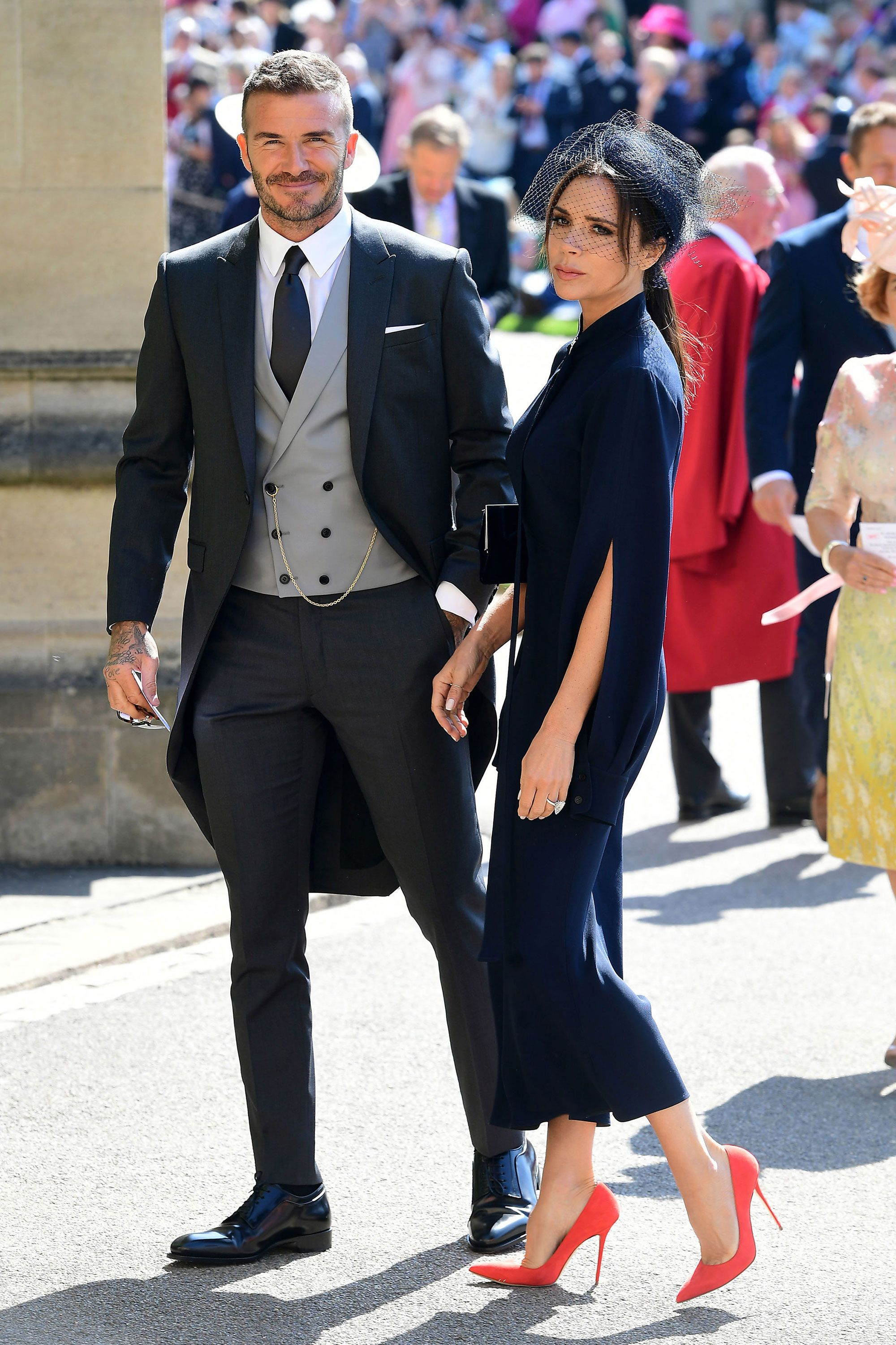 Royal Wedding 2018 Victoria Beckham S Dress Looks Similar To Her Prince William And Kate Outfit